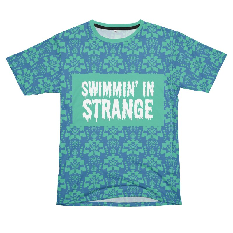 Swimmin' in Strange Men's Cut & Sew by Lynell Ingram's Shop