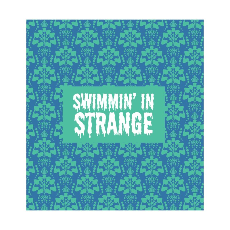 Swimmin' in Strange Accessories Sticker by Lynell Ingram's Shop