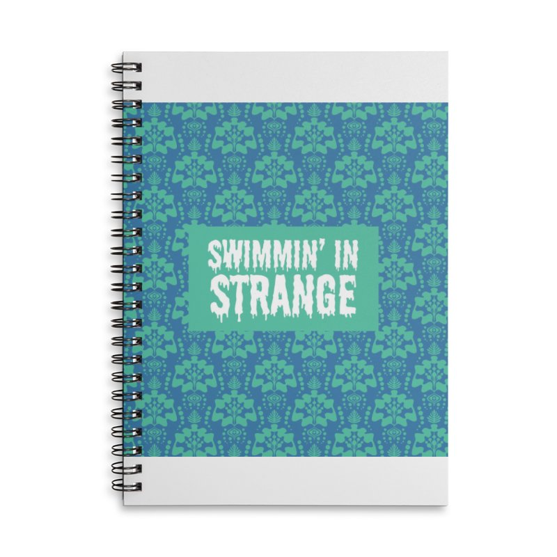 Swimmin' in Strange Accessories Notebook by Lynell Ingram's Shop