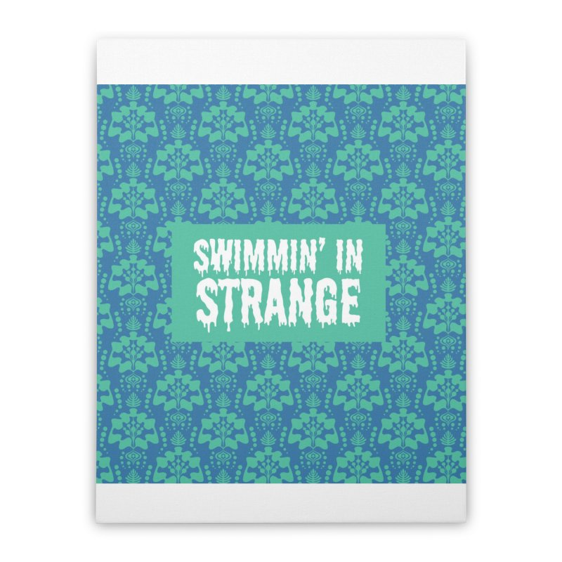 Swimmin' in Strange Home Stretched Canvas by Lynell Ingram's Shop