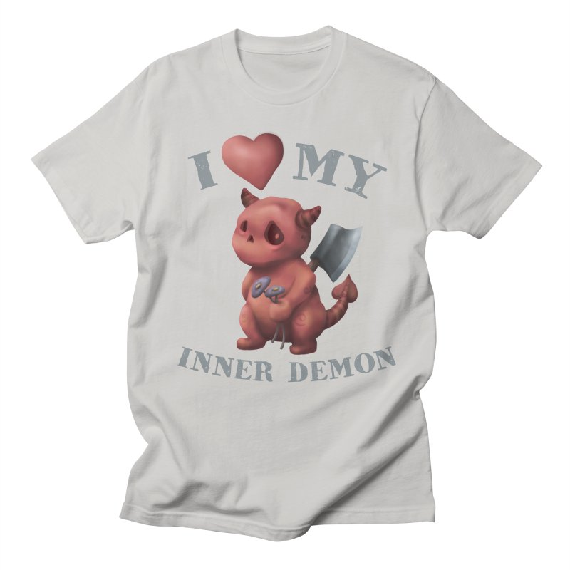 I Love My Inner Demon Men's T-Shirt by Lynell Ingram's Shop