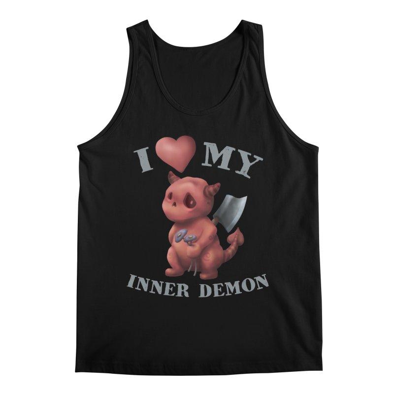 I Love My Inner Demon Men's Regular Tank by Lynell Ingram's Shop