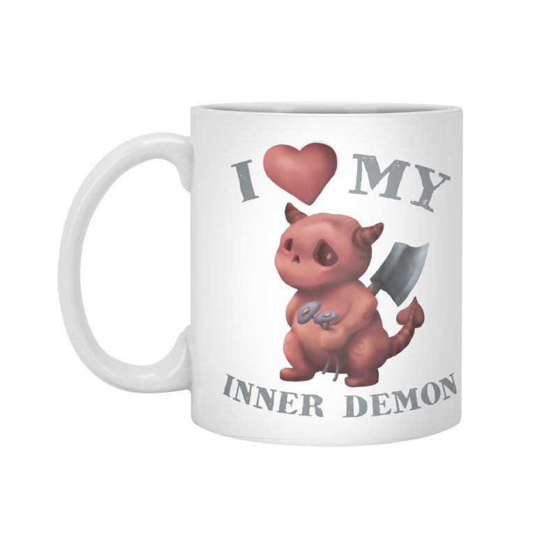 I Love My Inner Demon Accessories Standard Mug by Lynell Ingram's Shop