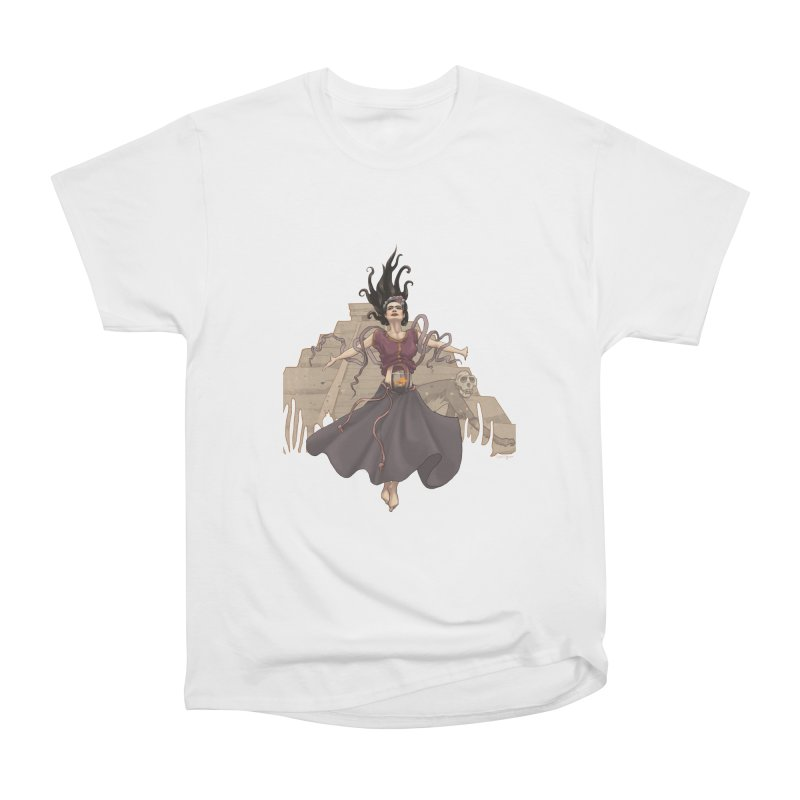 Frida's Glory Men's Heavyweight T-Shirt by Lynell Ingram's Shop