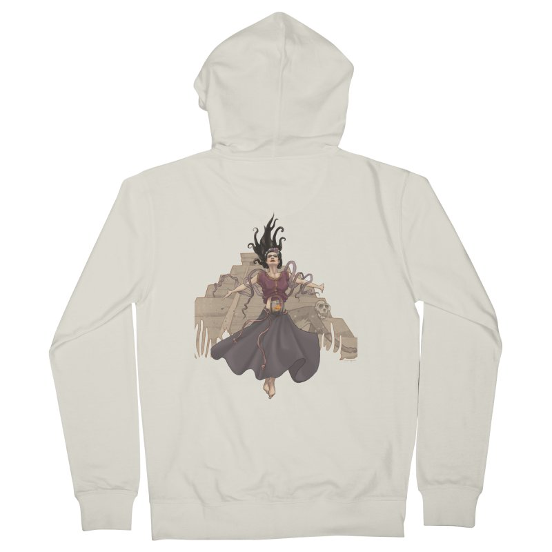 Frida's Glory Men's French Terry Zip-Up Hoody by Lynell Ingram's Shop
