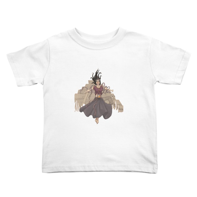 Frida's Glory Kids Toddler T-Shirt by Lynell Ingram's Shop