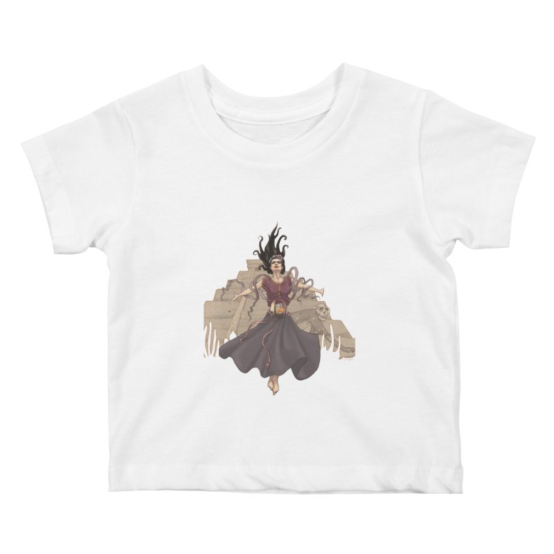 Frida's Glory Kids Baby T-Shirt by Lynell Ingram's Shop