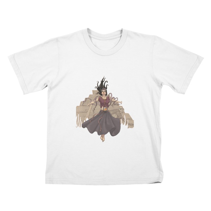 Frida's Glory Kids T-Shirt by Lynell Ingram's Shop