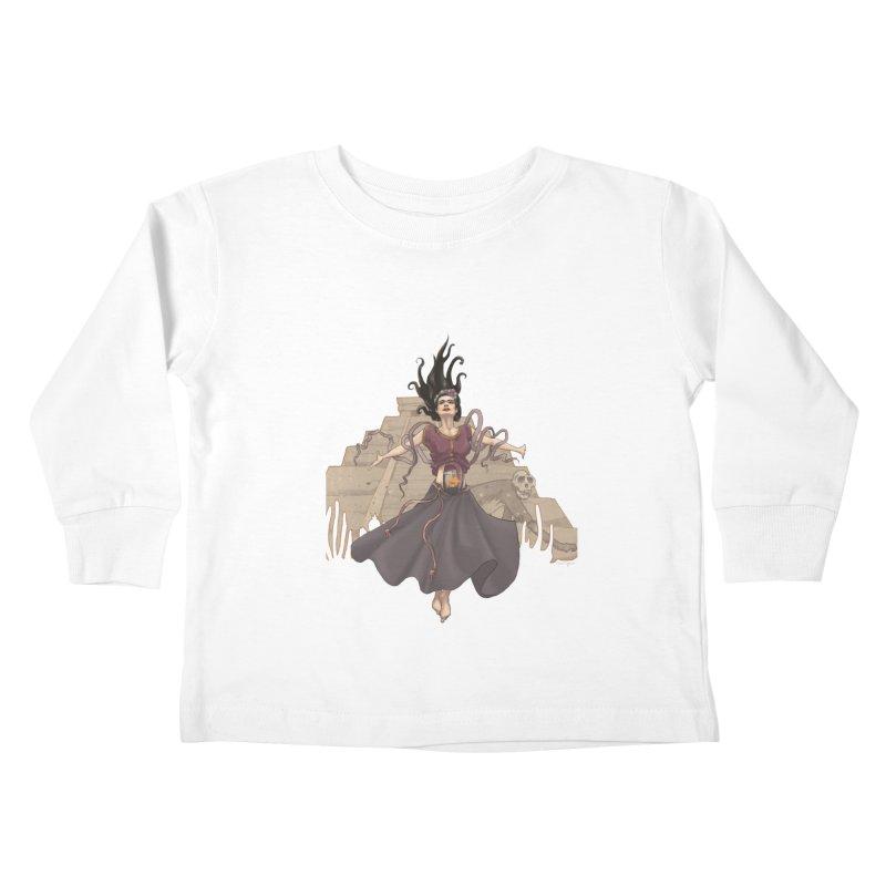 Frida's Glory Kids Toddler Longsleeve T-Shirt by Lynell Ingram's Shop
