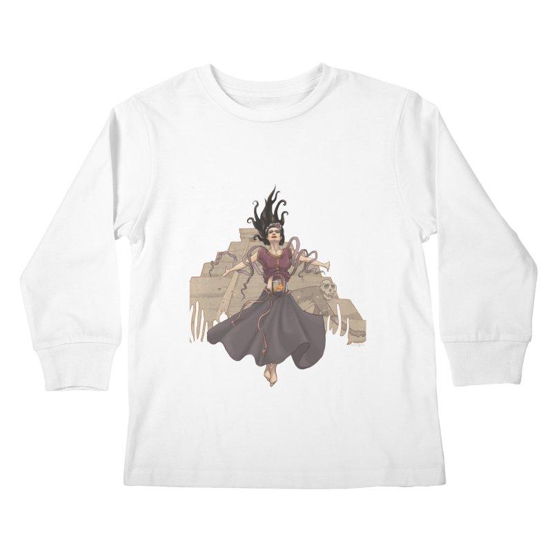 Frida's Glory Kids Longsleeve T-Shirt by Lynell Ingram's Shop