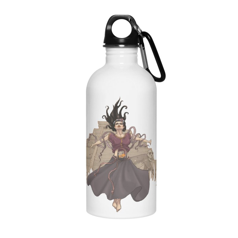Frida's Glory Accessories Water Bottle by Lynell Ingram's Shop