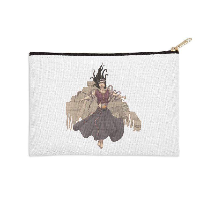 Frida's Glory Accessories Zip Pouch by Lynell Ingram's Shop