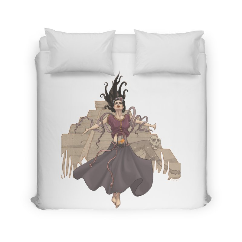 Frida's Glory Home Duvet by Lynell Ingram's Shop
