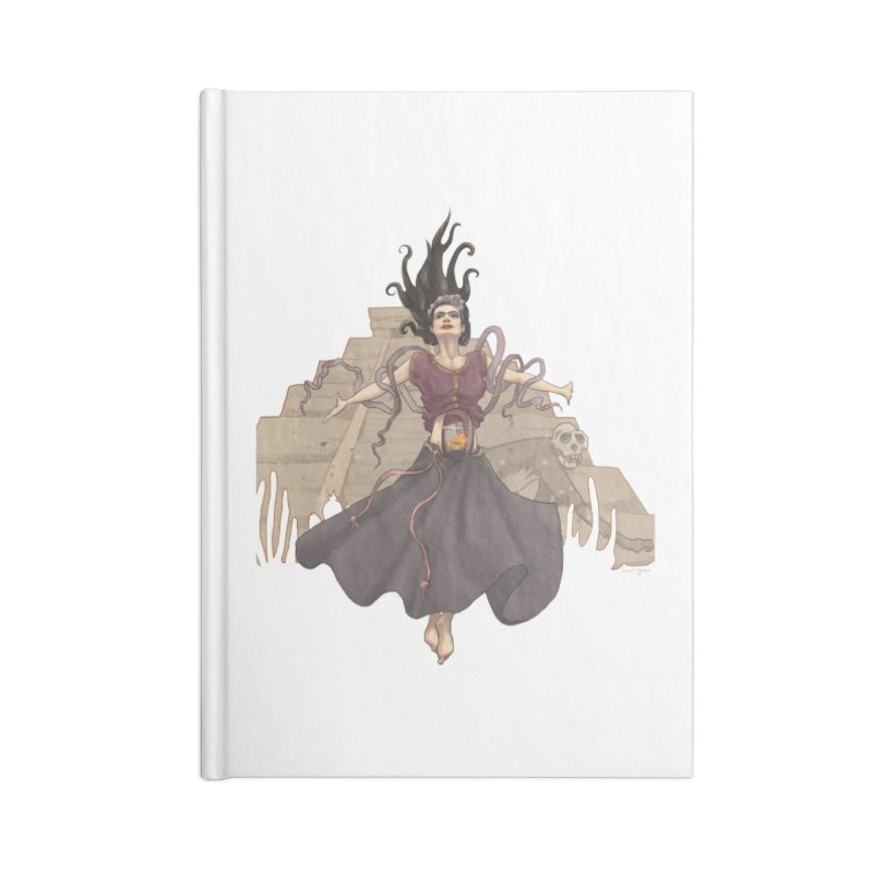 Frida's Glory Accessories Lined Journal Notebook by Lynell Ingram's Shop