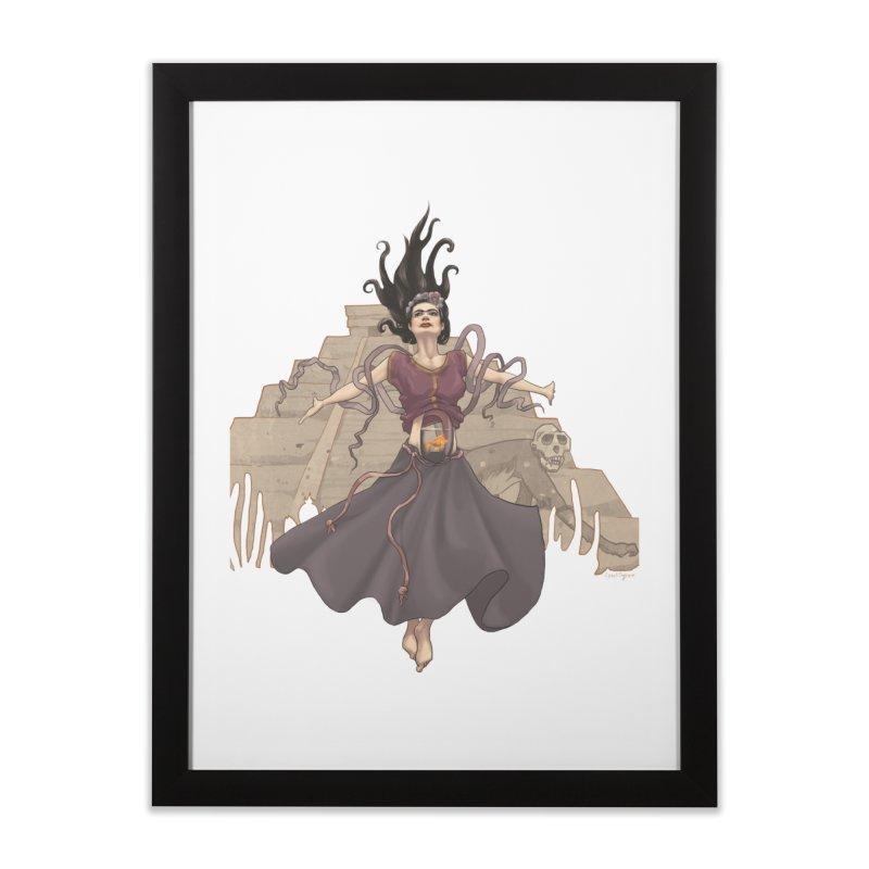 Frida's Glory Home Framed Fine Art Print by Lynell Ingram's Shop