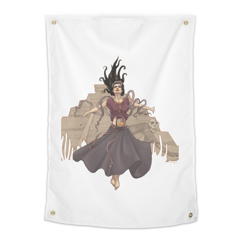 Frida's Glory Home Tapestry by Lynell Ingram's Shop