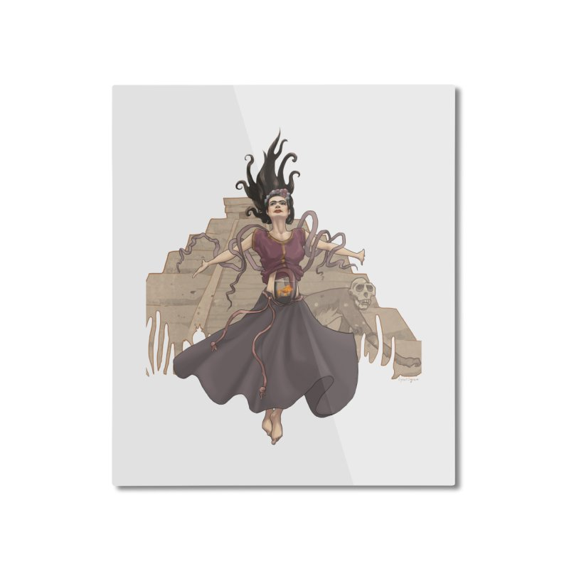 Frida's Glory Home Mounted Aluminum Print by Lynell Ingram's Shop