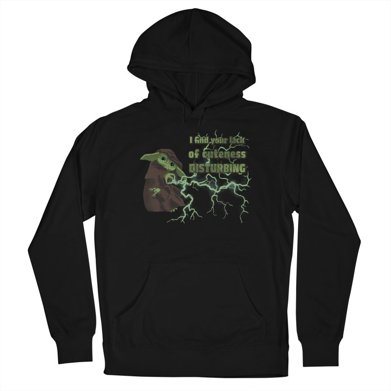 I Find Your Lack of Cuteness Disturbing Men's French Terry Pullover Hoody by Lynell Ingram's Shop