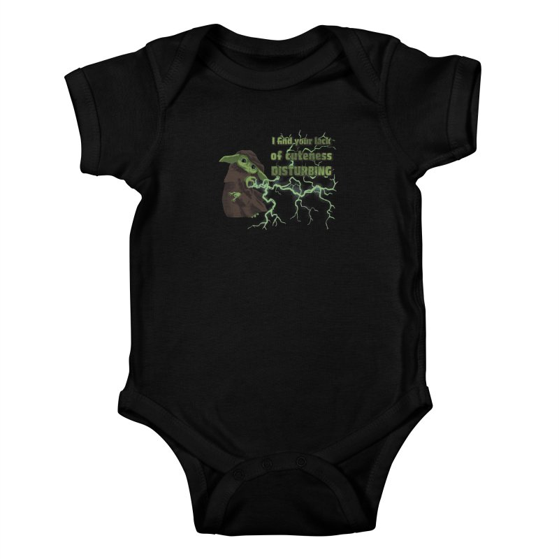I Find Your Lack of Cuteness Disturbing Kids Baby Bodysuit by Lynell Ingram's Shop