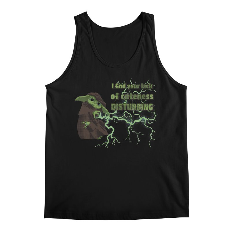 I Find Your Lack of Cuteness Disturbing Men's Regular Tank by Lynell Ingram's Shop