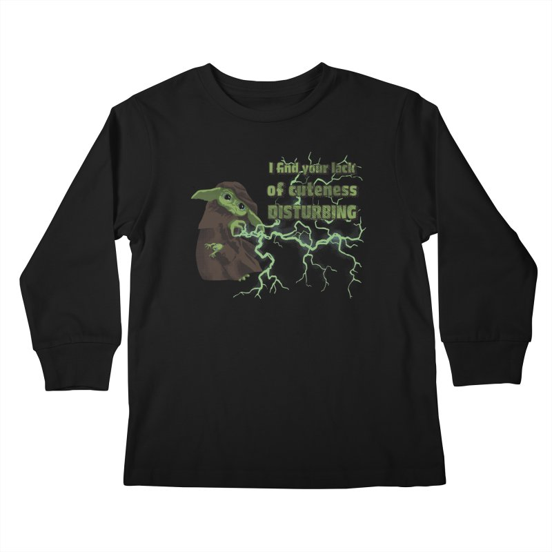 I Find Your Lack of Cuteness Disturbing Kids Longsleeve T-Shirt by Lynell Ingram's Shop
