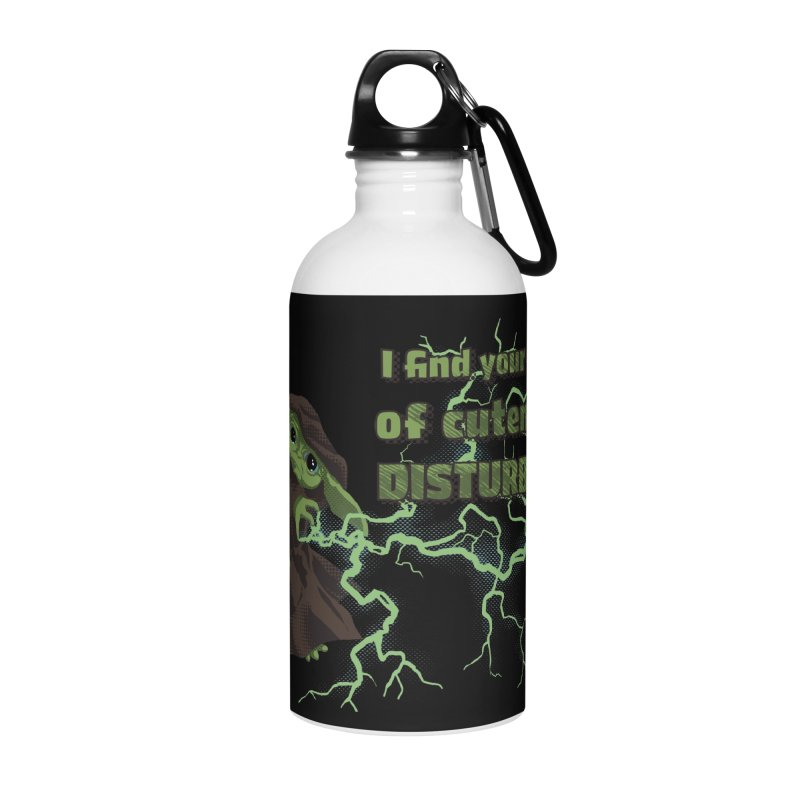 I Find Your Lack of Cuteness Disturbing Accessories Water Bottle by Lynell Ingram's Shop
