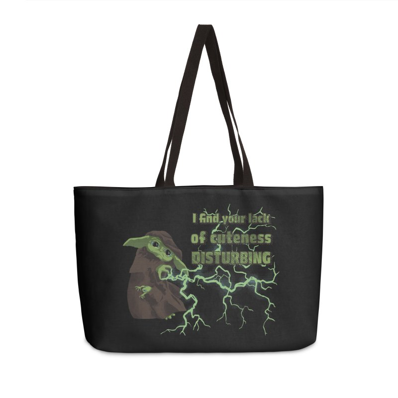 I Find Your Lack of Cuteness Disturbing Accessories Weekender Bag Bag by Lynell Ingram's Shop
