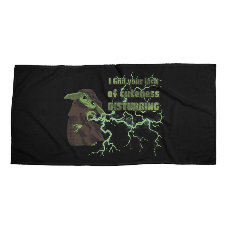 I Find Your Lack of Cuteness Disturbing Accessories Beach Towel by Lynell Ingram's Shop