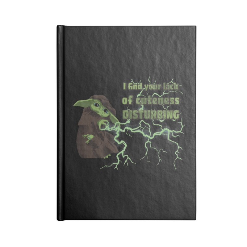 I Find Your Lack of Cuteness Disturbing Accessories Lined Journal Notebook by Lynell Ingram's Shop