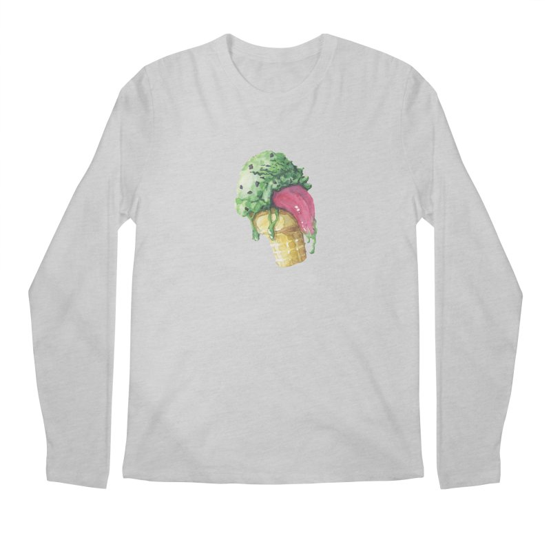 Ice Cream, Who Screams? Men's Longsleeve T-Shirt by Lynell Ingram's Shop