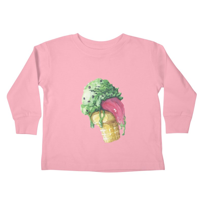 Ice Cream, Who Screams? Kids Toddler Longsleeve T-Shirt by Lynell Ingram's Shop