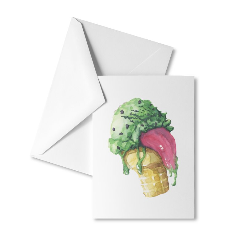 Ice Cream, Who Screams? Accessories Greeting Card by Lynell Ingram's Shop