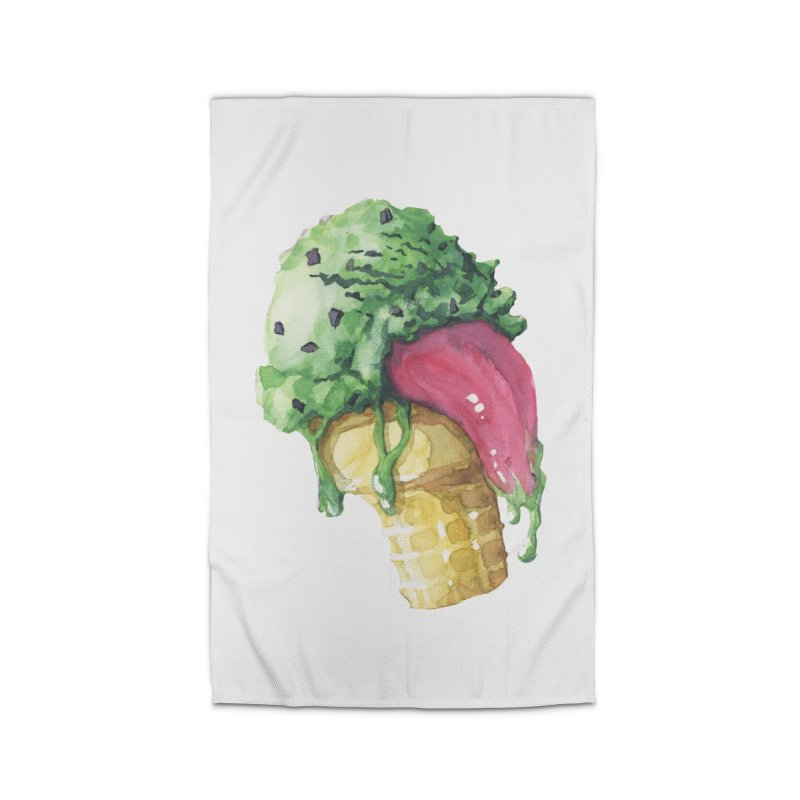 Ice Cream, Who Screams? Home Rug by Lynell Ingram's Shop