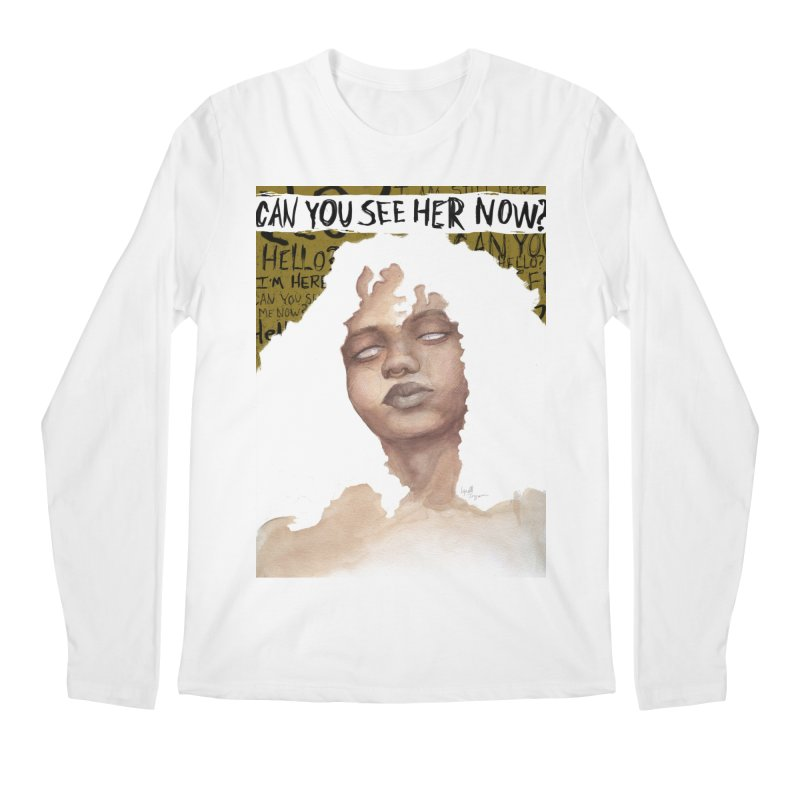 Can You See Her Now? Men's Longsleeve T-Shirt by Lynell Ingram's Shop
