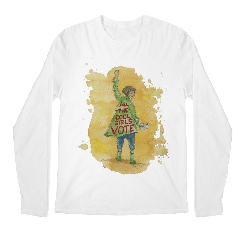 All the Cool Girls Vote Men's Longsleeve T-Shirt by Lynell Ingram's Shop