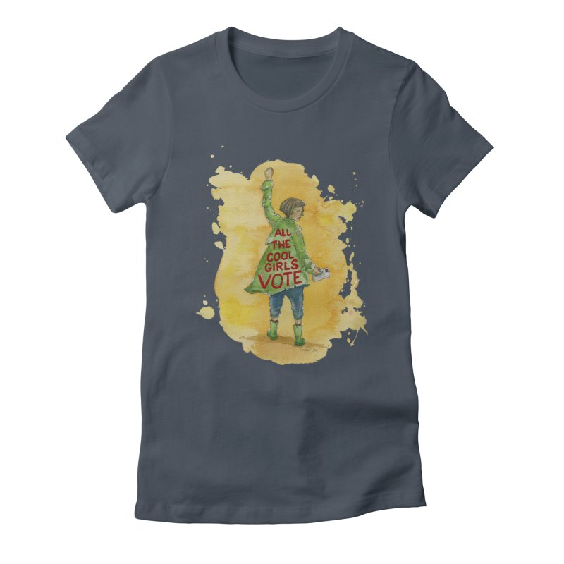 All the Cool Girls Vote Women's T-Shirt by Lynell Ingram's Shop