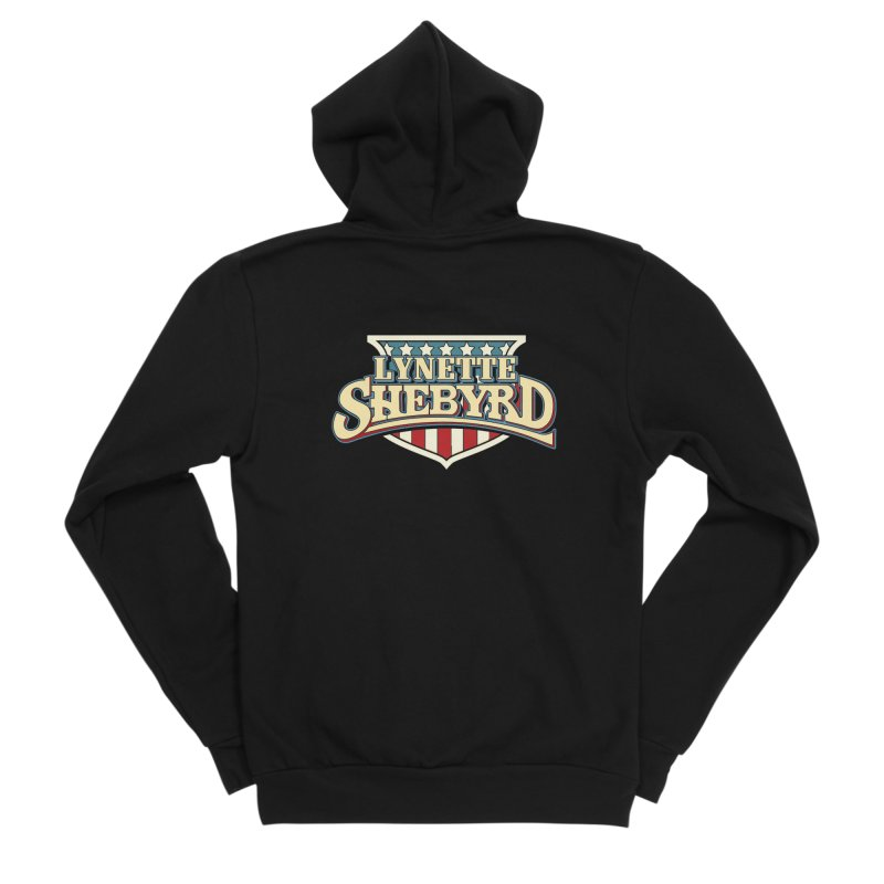 Lynette of Hazzard Men's Zip-Up Hoody by Lynette Shebyrd's Merch Shop