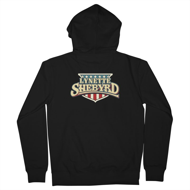 Lynette of Hazzard Men's French Terry Zip-Up Hoody by Lynette Shebyrd's Merch Shop