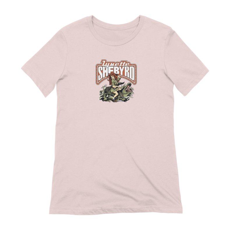 GatorGyrl Women's Extra Soft T-Shirt by Lynette Shebyrd's Merch Shop