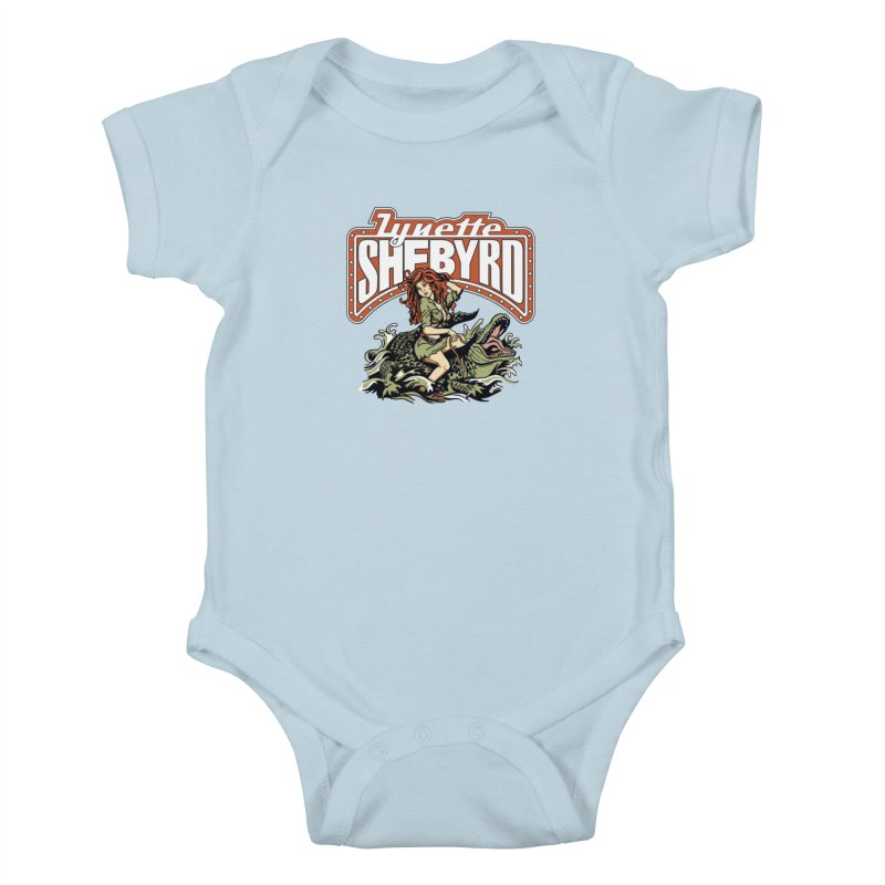 GatorGyrl Kids Baby Bodysuit by Lynette Shebyrd's Merch Shop