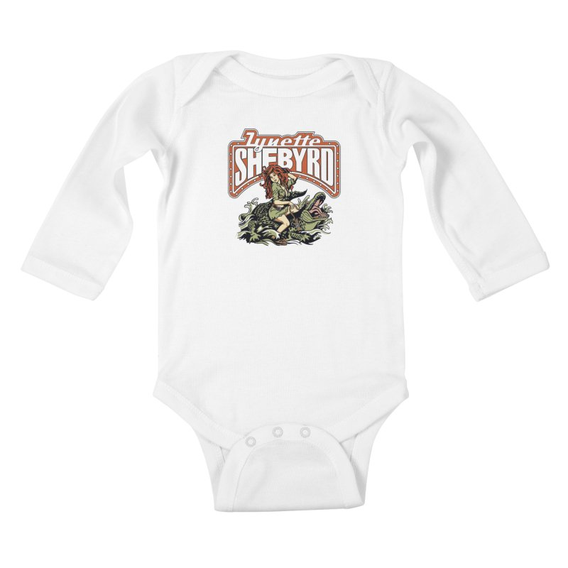GatorGyrl Kids Baby Longsleeve Bodysuit by Lynette Shebyrd's Merch Shop
