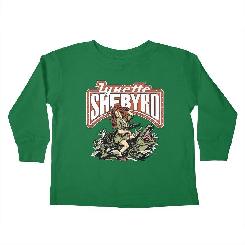 GatorGyrl Kids Toddler Longsleeve T-Shirt by Lynette Shebyrd's Merch Shop