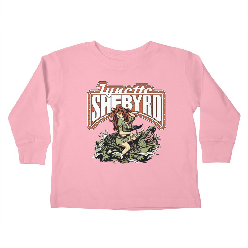 GatorGyrl Kids Toddler Longsleeve T-Shirt by Lynette Shebyrd's Merch Shop