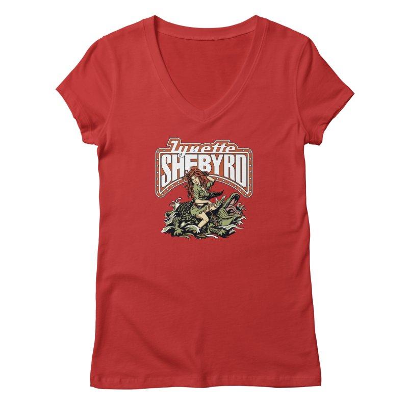 GatorGyrl Women's Regular V-Neck by Lynette Shebyrd's Merch Shop