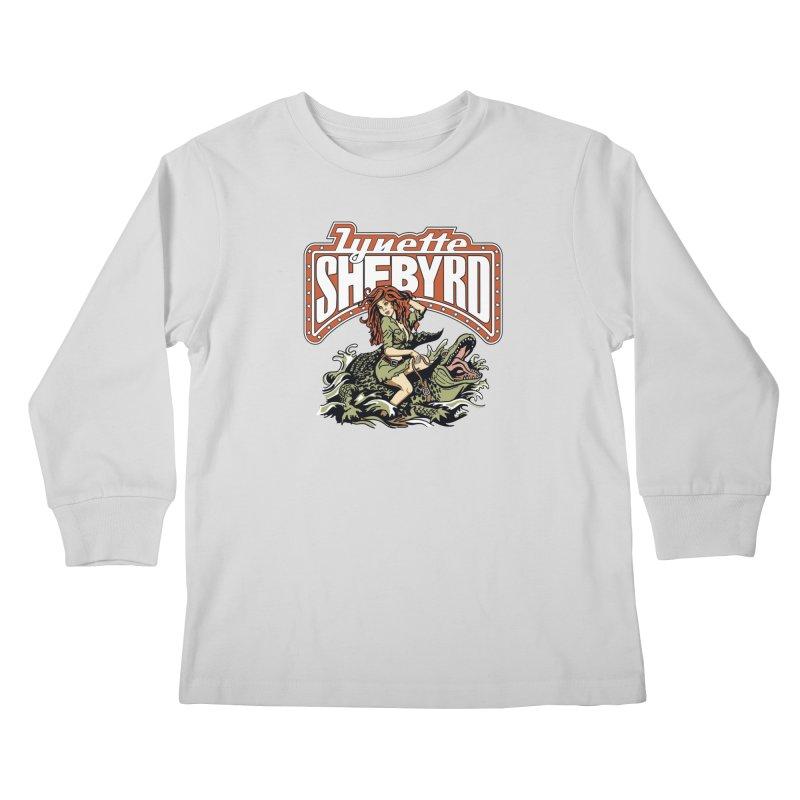 GatorGyrl Kids Longsleeve T-Shirt by Lynette Shebyrd's Merch Shop