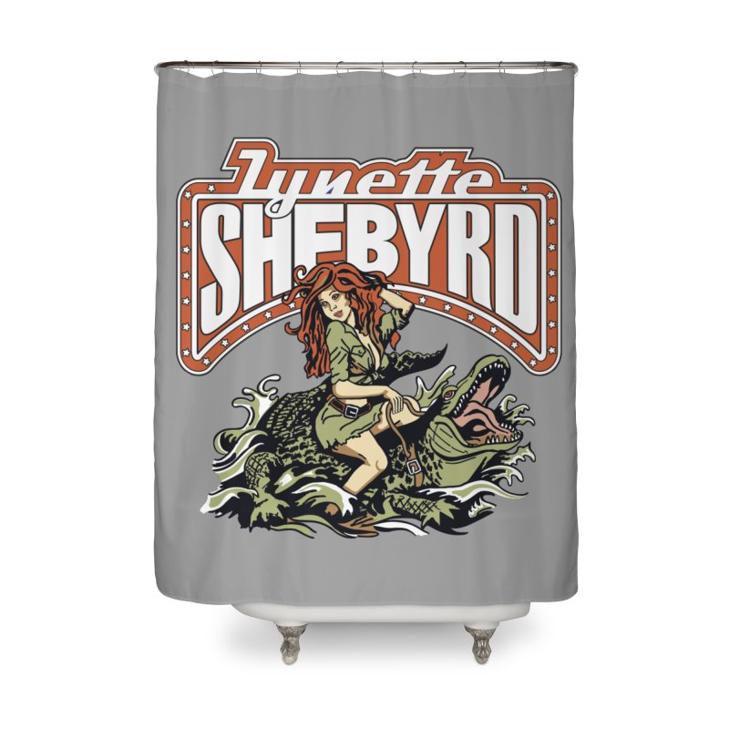 GatorGyrl Home Shower Curtain by Lynette Shebyrd's Merch Shop