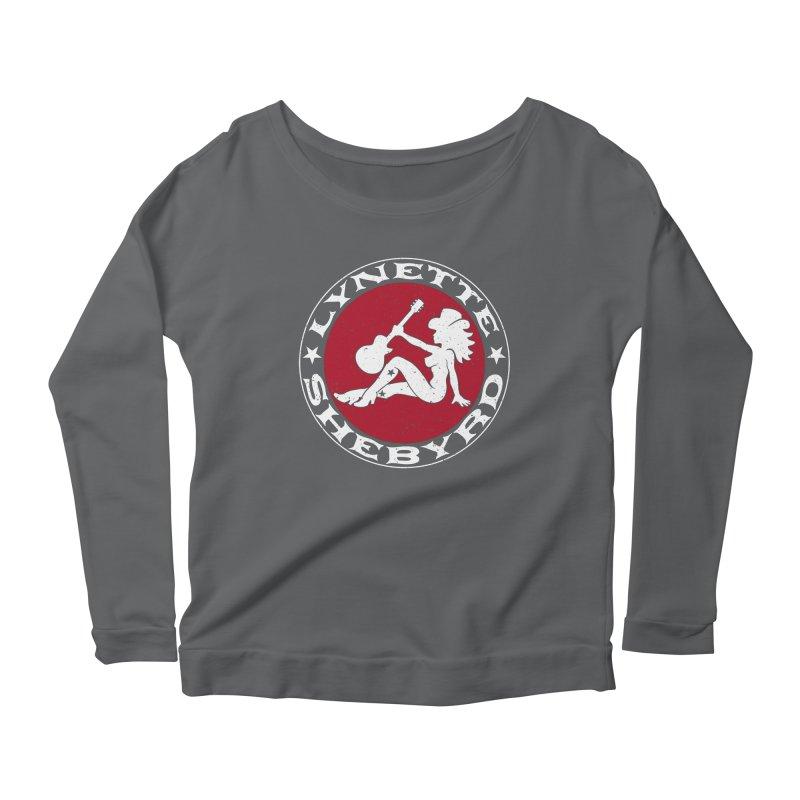 Mudflap Mama T-Shirts Women's Scoop Neck Longsleeve T-Shirt by Lynette Shebyrd's Merch Shop