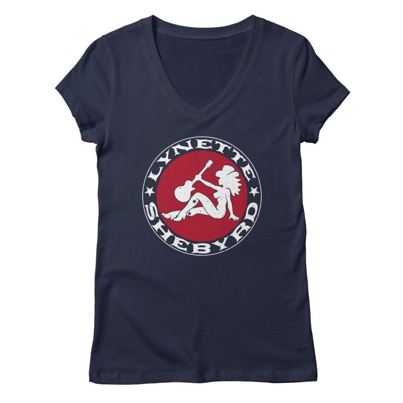 Mudflap Mama T-Shirts Women's Regular V-Neck by Lynette Shebyrd's Merch Shop