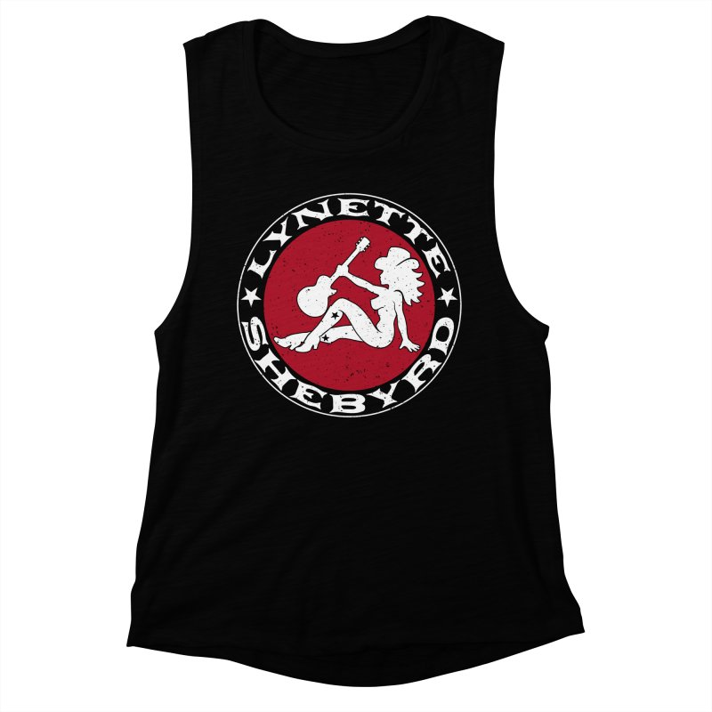 Mudflap Mama T-Shirts Women's Muscle Tank by Lynette Shebyrd's Merch Shop