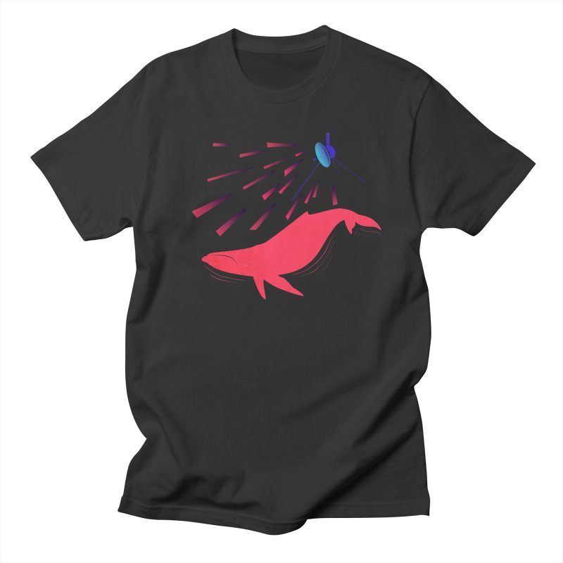 Great Whale of the Cosmos Women's Regular Unisex T-Shirt by lysandraws presents: crass commercialism!